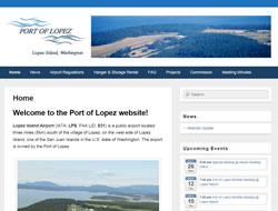 Port of Lopez Logo